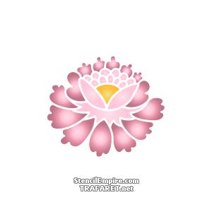 Chinesische Blume 6 Schablone Zum Malen Im Internet Kaufen