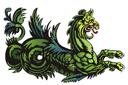 Трафарет Морской монстр 25