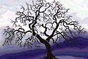 Трафарет Дерево готов 2