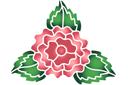 Цветок махровой розы 2А