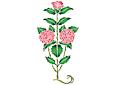Куст розы 1
