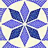 Schablonen für die Bordüren mit verschiedenen Ornamenten