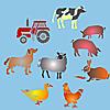 Schablonen für die Raumdekor des Kindes - Tiere