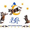Schablonen für die Raumdekor des Kindes - Märchen aus England
